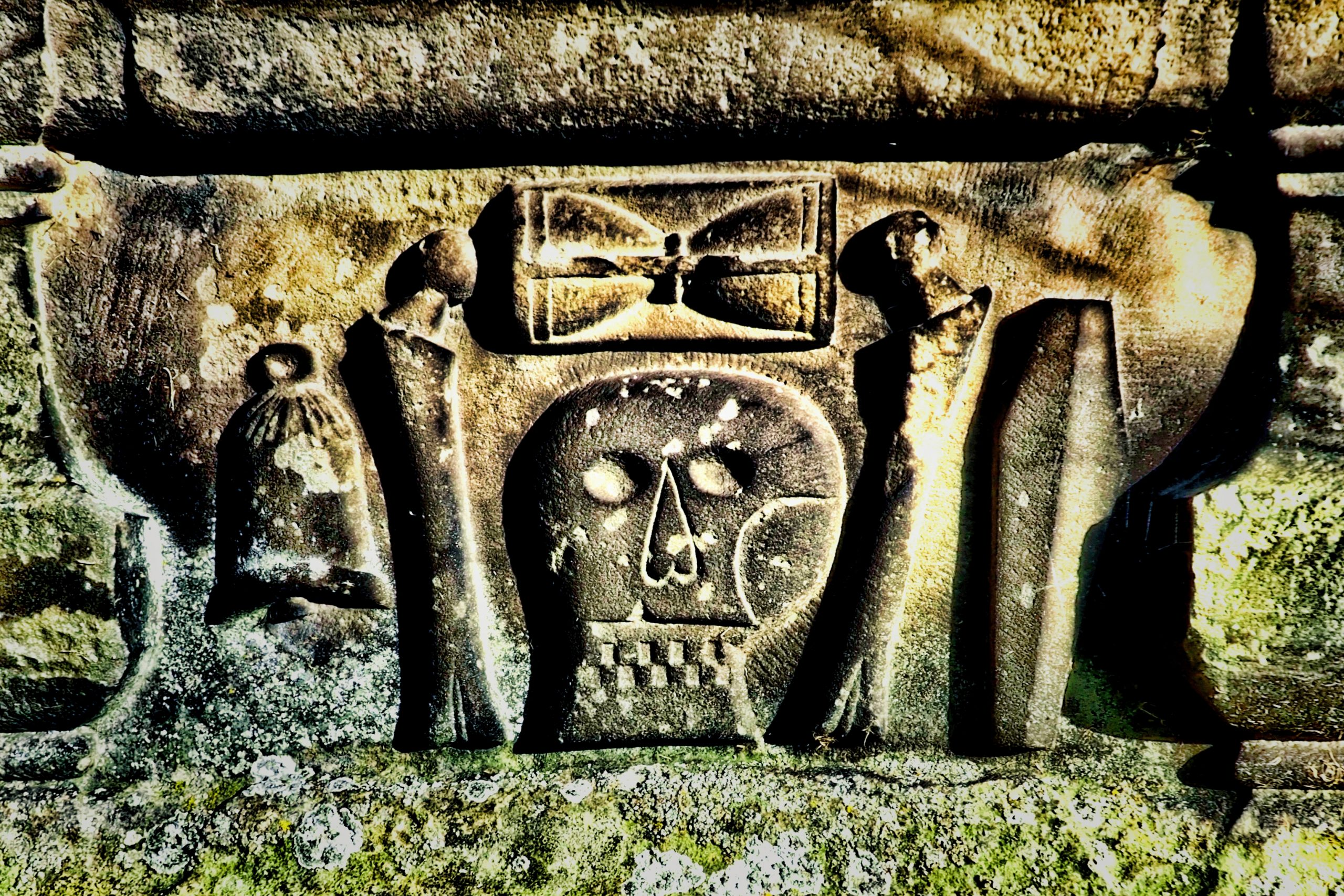 Why Was the Skull and Crossbones Carved On So Many Old Scottish Gravestones?