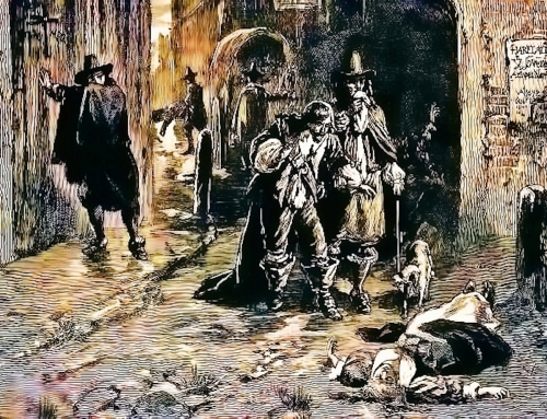 Bring out the Dead! Or Brick them up Alive! Black Death in Edinburgh!