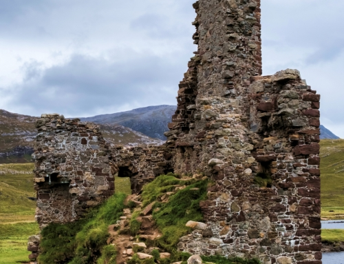 Haunted Scottish Highlands: Ardvreck Castle
