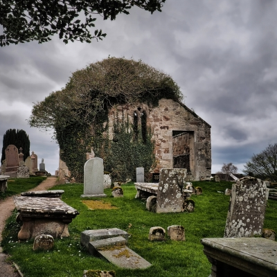 Auldearn Kirk where Isobel Gowdie met with the devil ande was tried.