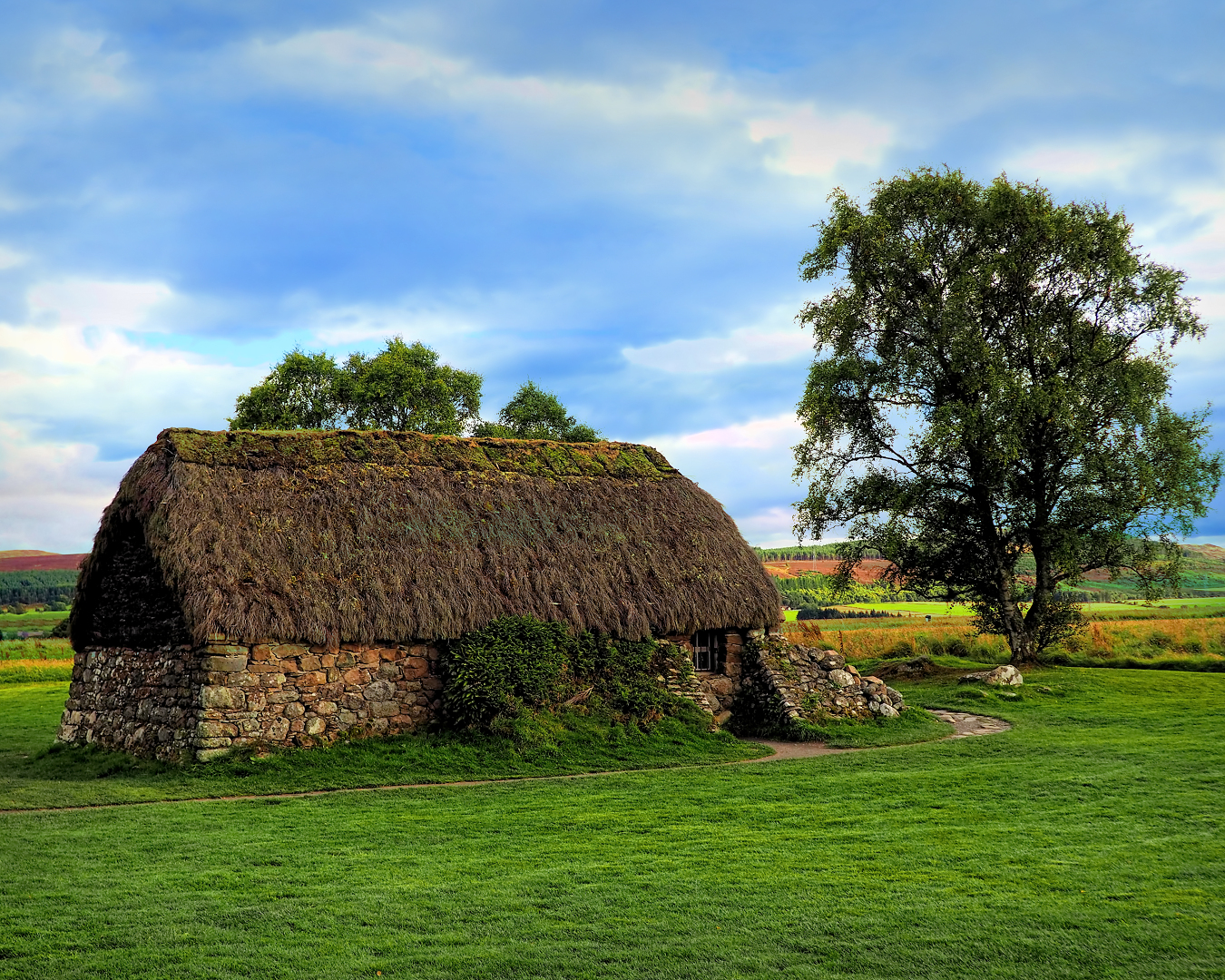 One of the last original structures at Culloden Moor Battle Field.