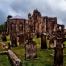 Medieval Elgin Cathedral Graveyard