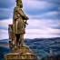 Statue of Robert the Bruce, the Outlaw King, near Stirling, Scotland