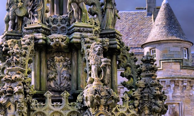 The Wraith of Rizzio Roams the Recesses of Holyrood Palace
