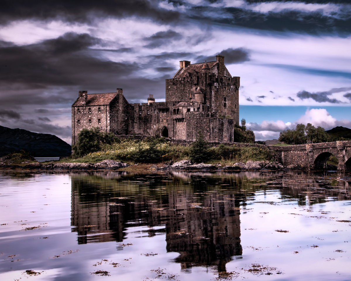 Haunted Highlands Castle Eilean Donan