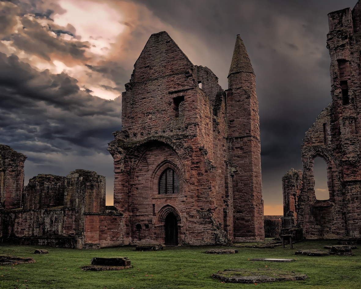 Arbroath Abbey where the Declaration of Arbroath was signed.