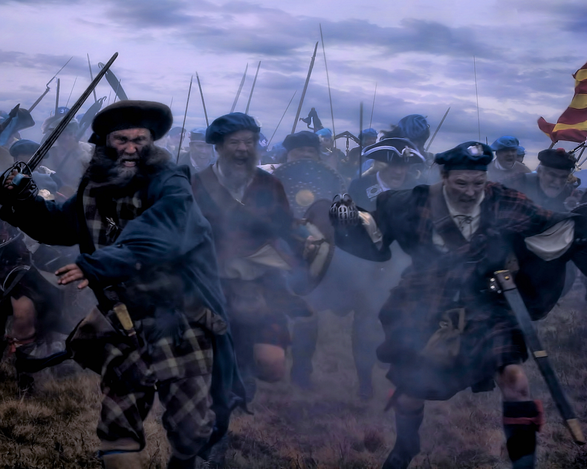Ghosts of the fallen are said to appear on the anniversay of the Battle of Culloden