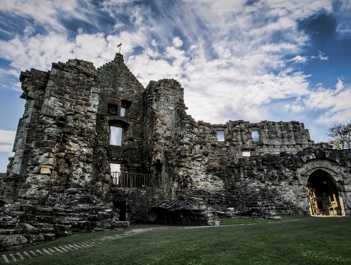 Cardinal Beaton's ghost is said to haunt St Andrews Castle.