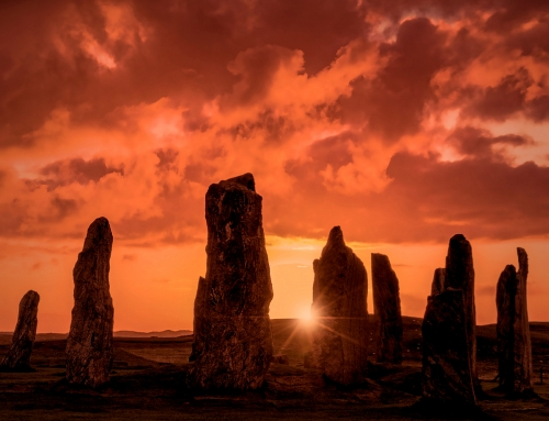 Calanais: The Sun, The Moon, The Goddess and The Stones