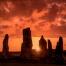 Calanais Standing Stones at Midsummer