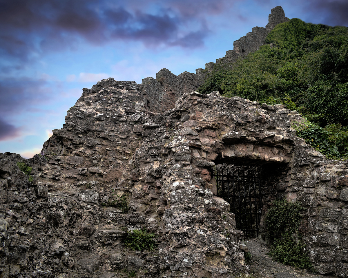 Berwick Castle Ruins