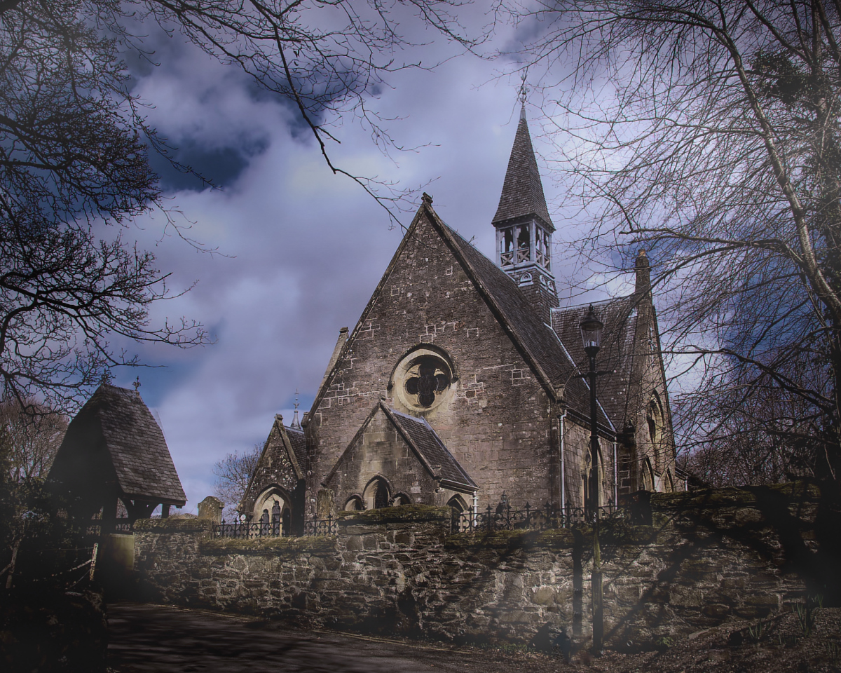 St Kessog's Church, Luss, Scotland