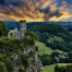 Kinnoull Hill, Perthshire. Home of the Dragon's Hole.
